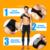 Ajustável Direita Esquerda Único Ombro Bandagem Ombro Postura Terapia Lesão Artrite Dor Ginásio Esportes Bandagem