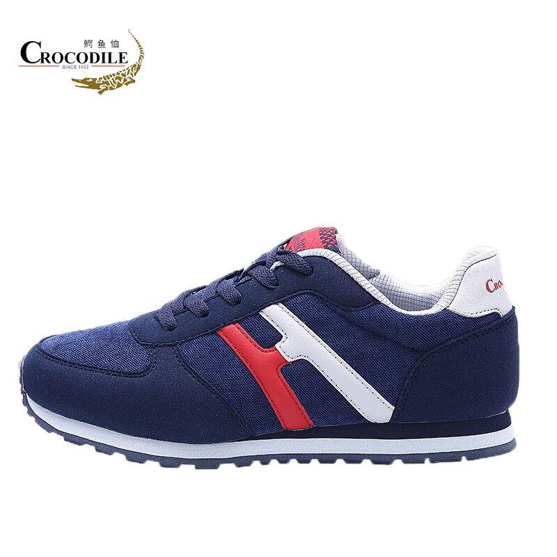 Crocodile Original Men Running Shoes Outdoor Jogging Athletic Baseball Sneakers Men Training Sport Shoes Tennis Hombre Footwear