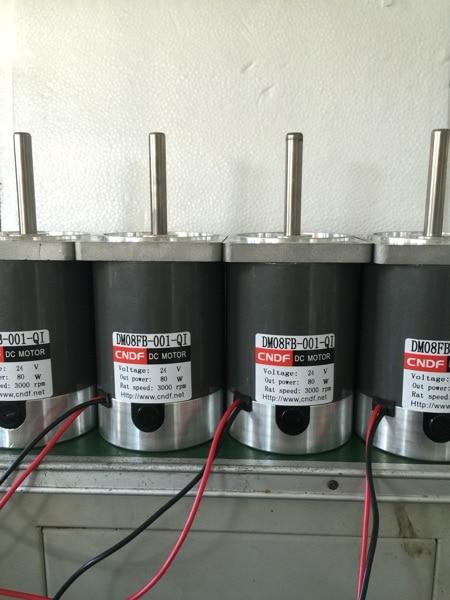 Dc Permanent Magnet Motor 24v3000 To 80w Motor Diameter 80mm Shaft Diameter 10mm zgb60fm g dc 24v 90rpm 8mm shaft diameter permanent magnet geared motor