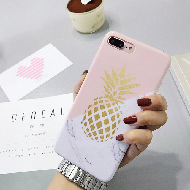 7 Cases Pink Marble Plus Iphone Cute Phone