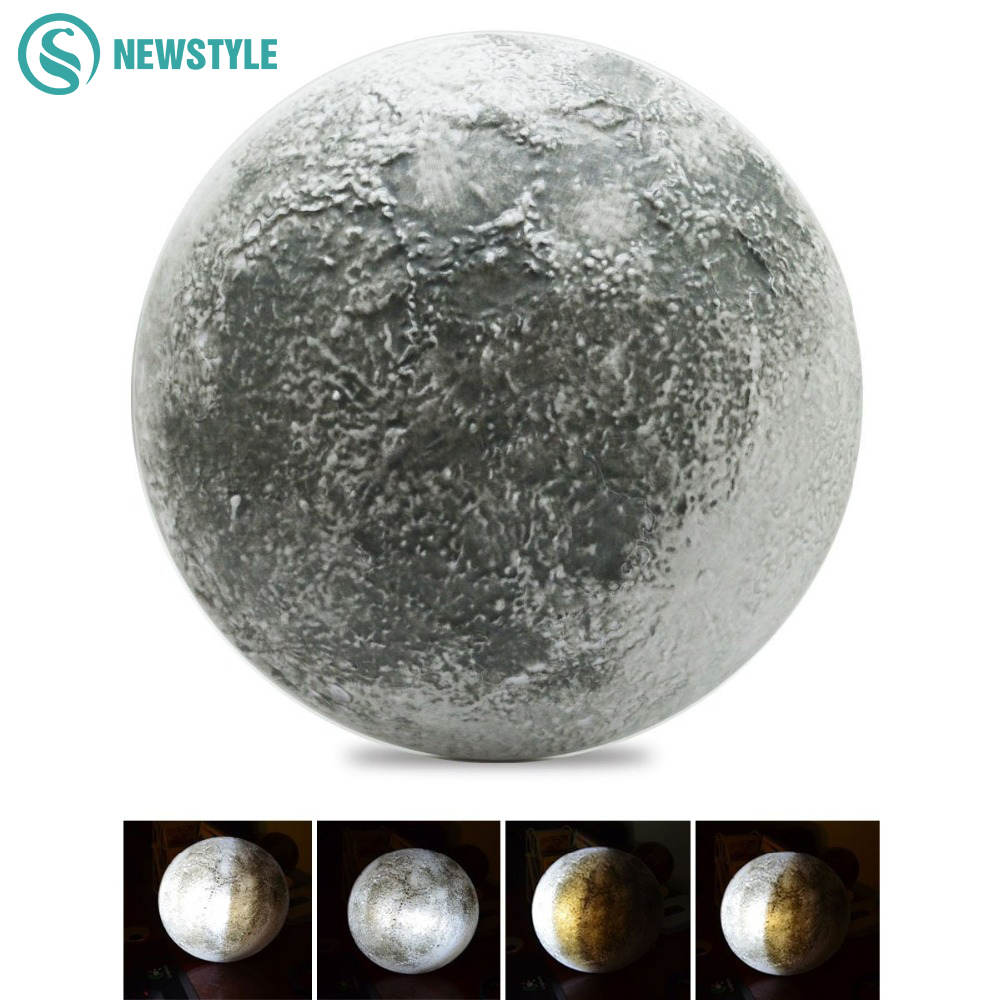 Wall Mounted Moon Lamp : Aliexpress.com : Buy LED Wall Moon Night Light Lamp Sensor Light With Remote Control LED Night ...