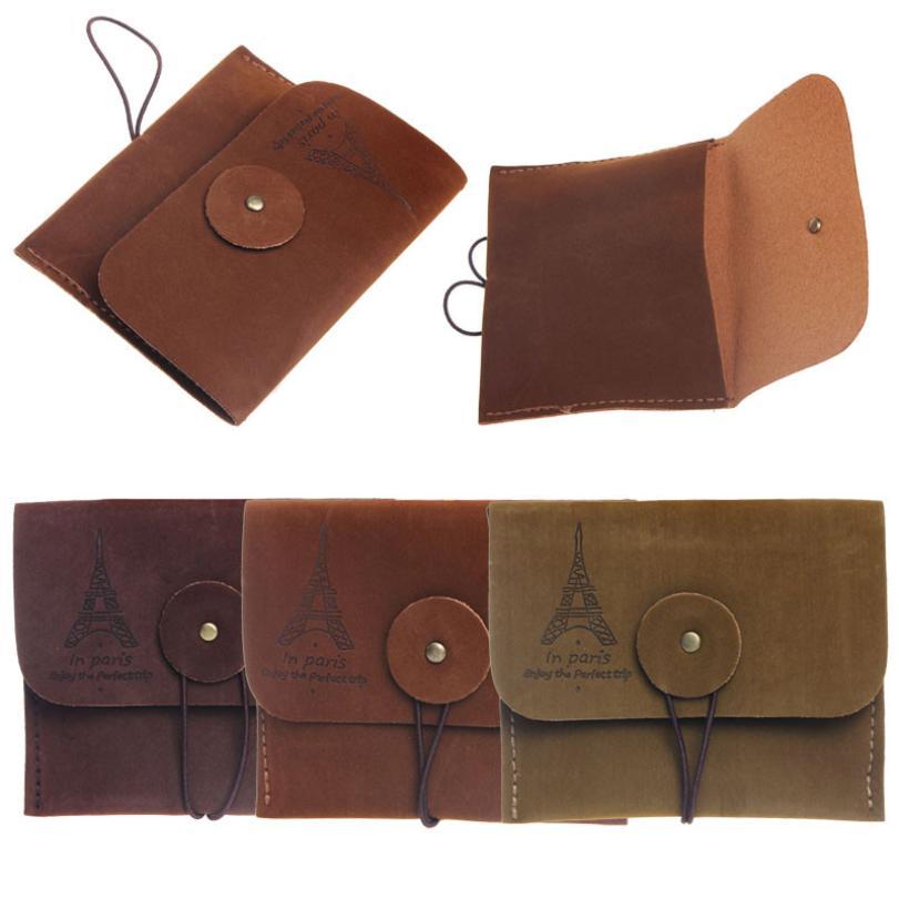 CONEED Creative Retro Paris Tower Memory Coin Purse Storage Bag Holder Drop Shipping Happy Sale ap630