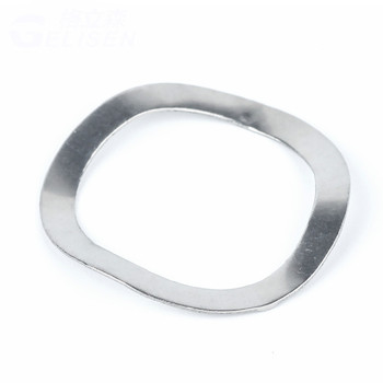500PCS M14X21X0.3mm 304 Stainless Steel Wave Spring Washer Elastic Gasket Bearing