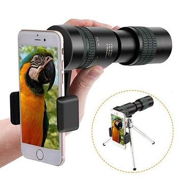 8-24x30 Alta Potência FMC BAK4 Prisma Lente Zoom Trecho Âmbito Monocular de Visão Noturna Portátil HD À Prova D' Água Telescópio para Observação de pássaros