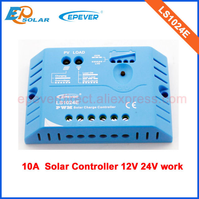 EPEVER PWM solar battery charging controller LS1024E 10A 10amp 12v 24v auto work