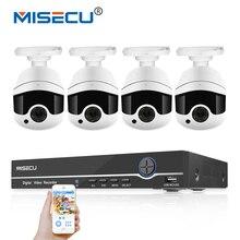 MISECU IEEE802.3af 48 V 8 Canales NVR POE WDR Matriz 2.0MP H.264 + módulo incorporado POE cámara de Metal Noche IR CCTV de seguridad de Correo Electrónico 2 TB