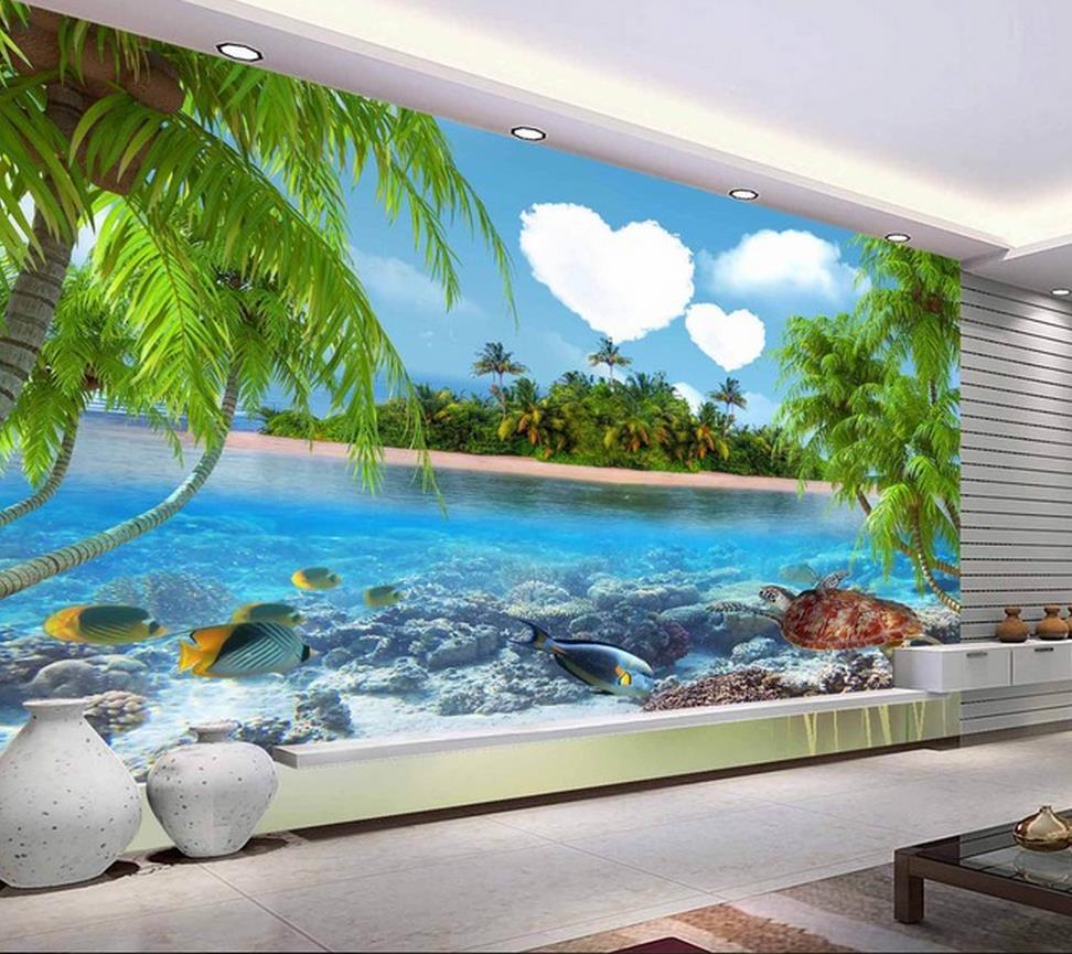 Wallpaper 3d Ikan Laut