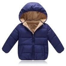 Детская верхняя одежда, пальто, зимние куртки для маленьких мальчиков и девочек, пальто, теплая детская парка, плотная детская одежда с капюшоном