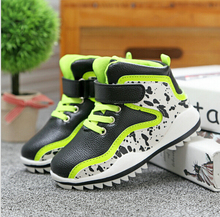 Children's sports shoes fashion new warm boots 2016 new children's boots Martin boots casual shoes soft bottom single boots