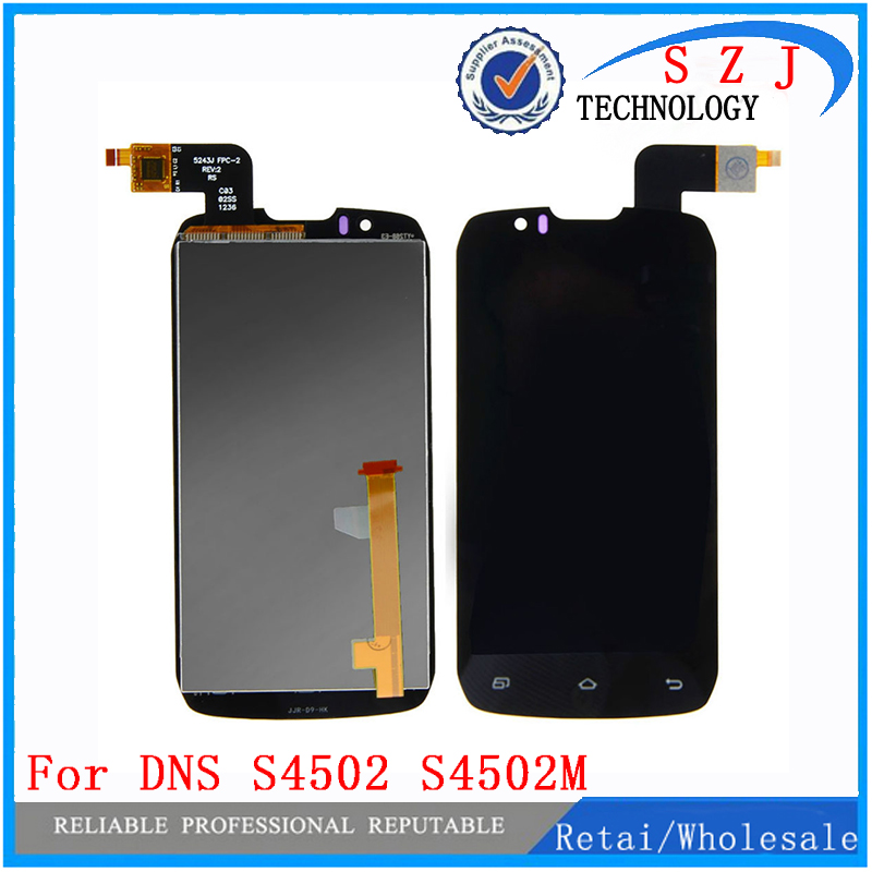 New Touch Screen Digitizer + LCD Display For DNS S4502 Highscreen boost Cloudfone Thrill430X innos D9 D9C free shipping шлифовальная машина энкор пмэ 250 182 50292