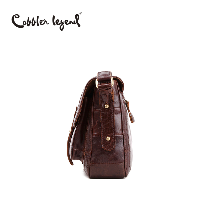 9cb8a0643d Cobbler Legend Brand Designer 2016 New Fashion Vintage Genuine Cowhide  Leather Women s Shoulder Messenger Bags Handbags  8068189-in Shoulder Bags  from ...