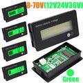 12 V 24 V 36 V 48 V Nuevo LCD De Plomo-Ácido de Litio Capacidad de La Batería Indicador de Voltaje Voltímetro Digital Probador el envío Libre 10000869