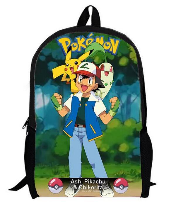 Cute 3D Cartoon Pokemon Backpack Children School Bags, Pocket Monster  Bagpack For Teenage Boys Pikachu Charizard Pokemon Bag-in School Bags from  Luggage ... 5be79ebe6b