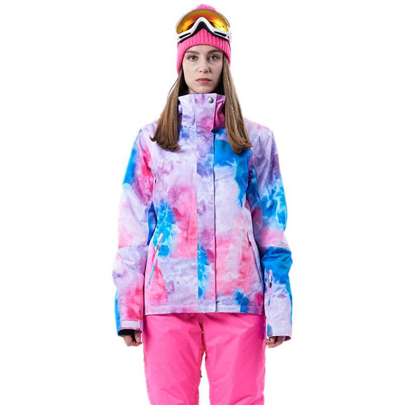 Women Snow jackets  outdoor Sports Snowboarding Suit 10K waterproof windproof Breathable skiing clothing High Quality GSOU SNOWWomen Snow jackets  outdoor Sports Snowboarding Suit 10K waterproof windproof Breathable skiing clothing High Quality GSOU SNOW