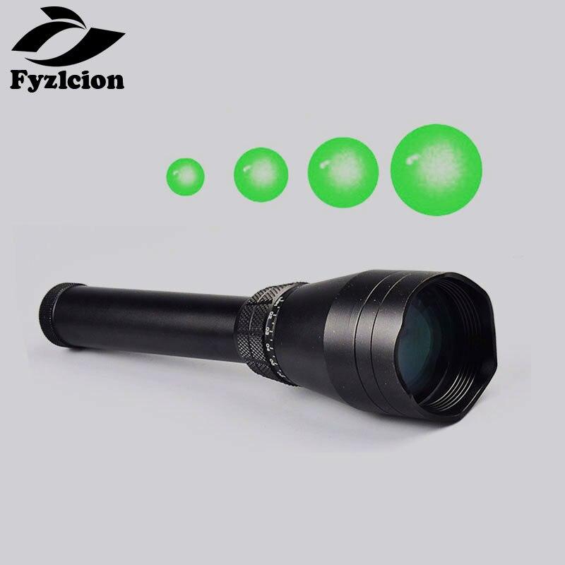 Tactique de chasse Réglable Faisceau Vert Laser Nuit Vision Laser Génétique ND-50 Longue Distance Laser De Vue La Lumière
