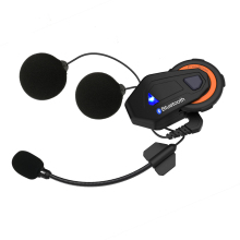 Freedconn grupo hablar intercom auricular bluetooth casco de moto 6 pilotos t-max bluetooth 4.1 1500 m FM bt interfono