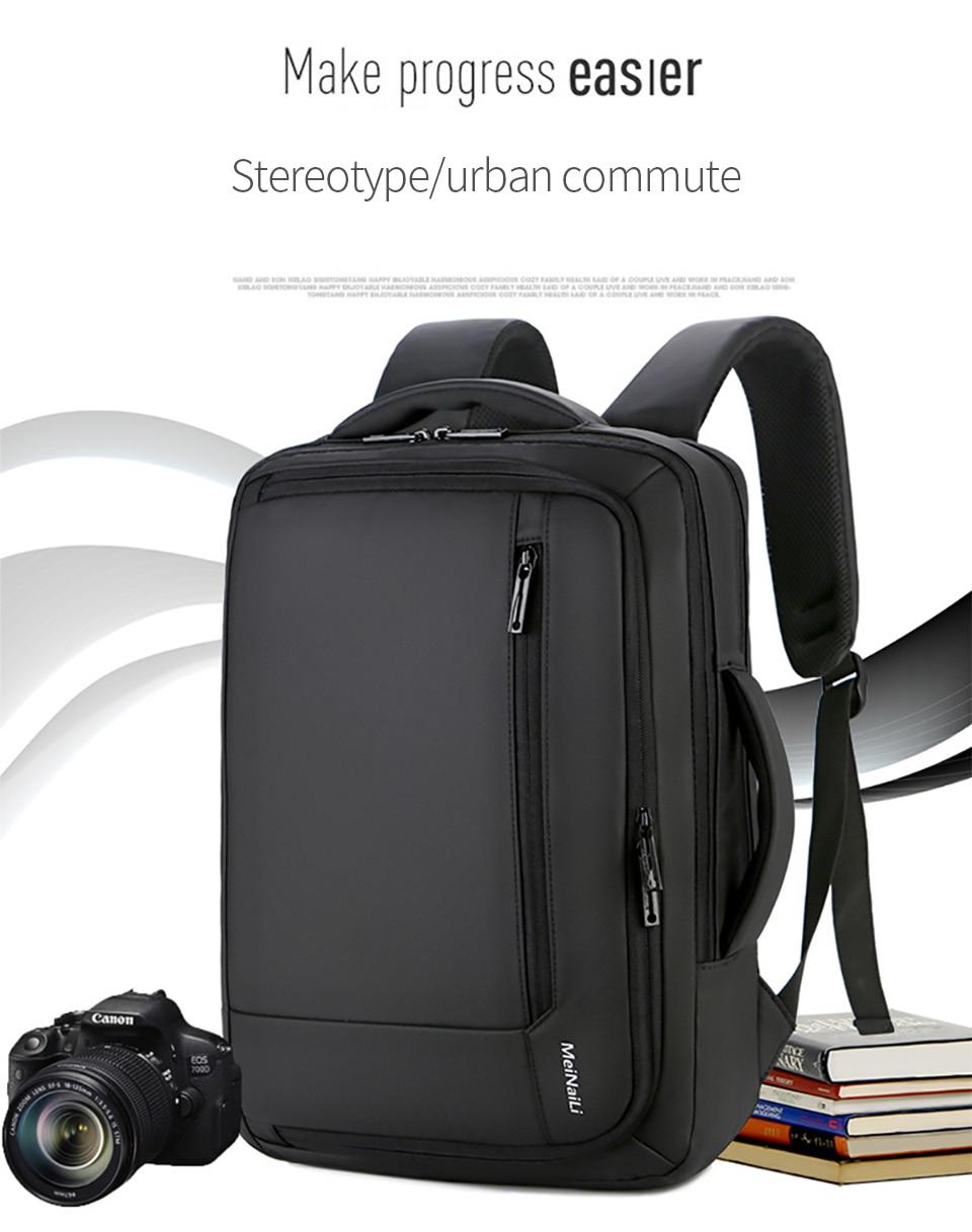 1 Multifunction USB Backpack Man Bag 15.6inch Laptop Backpacks Travel Bags Large Capacity Luggage Backpacking Waterproof Notebook