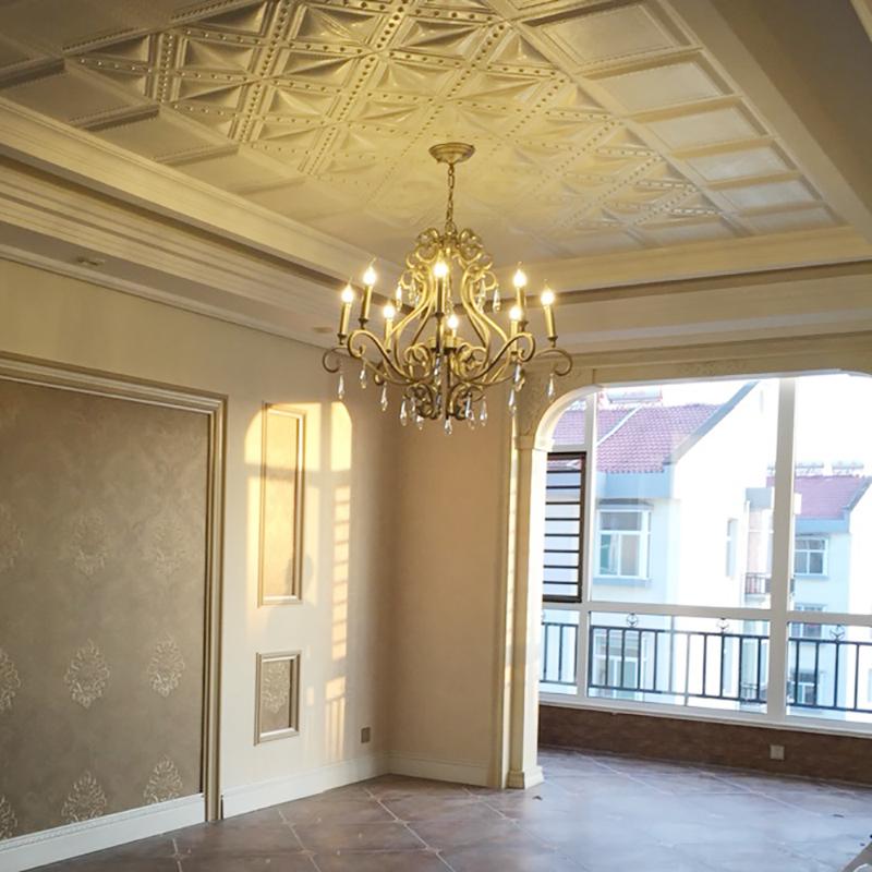 Luxus Kristall Kronleuchter Beleuchtung Lampe Kerze Kurze Mode Wohnzimmer Franzsisch