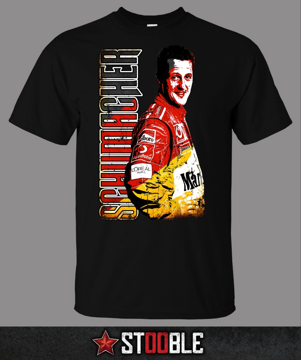 Hot Sell 2019 Fashion Michael Schumacher T-Shirt