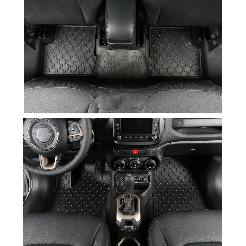 Rubber floor mats for lincoln mkx - 3pcs Set Rubber Car Floor Mats Waterproof Car Carpet Dustproof Durable Car Interior Accessories