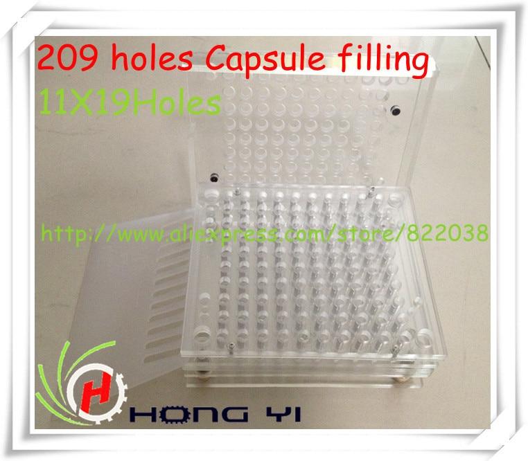 209 holes Manual Capsule Filling Machine/Capsule Filler,can be customized for 00# 0# 1# 2# 3# 4# 5# size capsule filling machine 209 cavity manual capsule filler with tamping tool can be customized for 000 00 0 1 2 3 4 5 size
