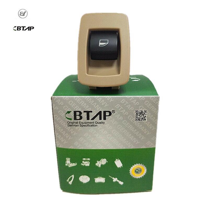 61316945876 Black Passenger Window Lifter Button Switch For BMW E90 E91 X5 X6 Z4