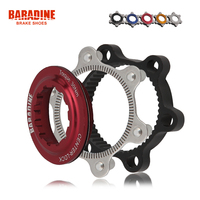 Baradine Aluminum Centerlock To 6 Bolt Rotor Adapter Bike Disc Brake Adapter