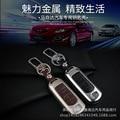 Caso o Titular da Chave do carro para MAZDA CX-5 mazda2 mazda 3 mazda 5 mazda 6 CX5 CX7 CX-7 Couro Genuíno Tampa Da Chave Do Carro Acessório Auto