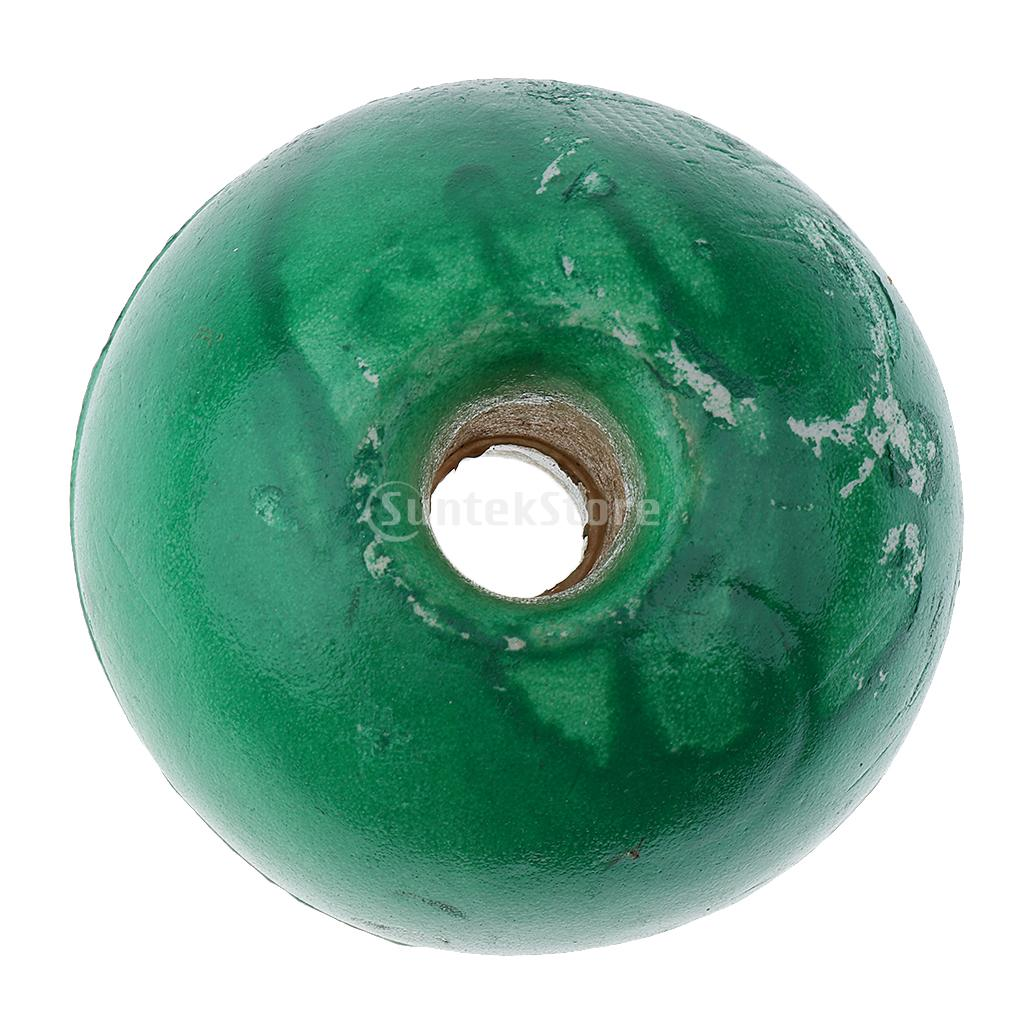 Green Fishing Anchor Water Float Buoy Safety Swimming Pool Rope Line Lane Divider Float Ball Gear Equipment