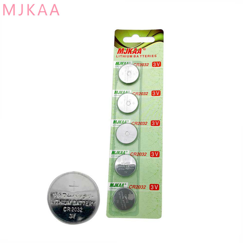 10 Pcs Bag CR2032 Button Battery BR2032 DL2032 ECR2032 3V CR 2032 for Watch Electronic Toy Remote Control Coin Lithium Battery in Button Cell Batteries from Consumer Electronics