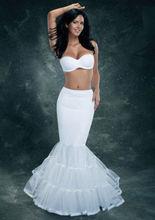 Blanco de la sirena Enaguas para Weding del vestido nupcial Potticoat boda Enaguas Enaguas Noiva 2015