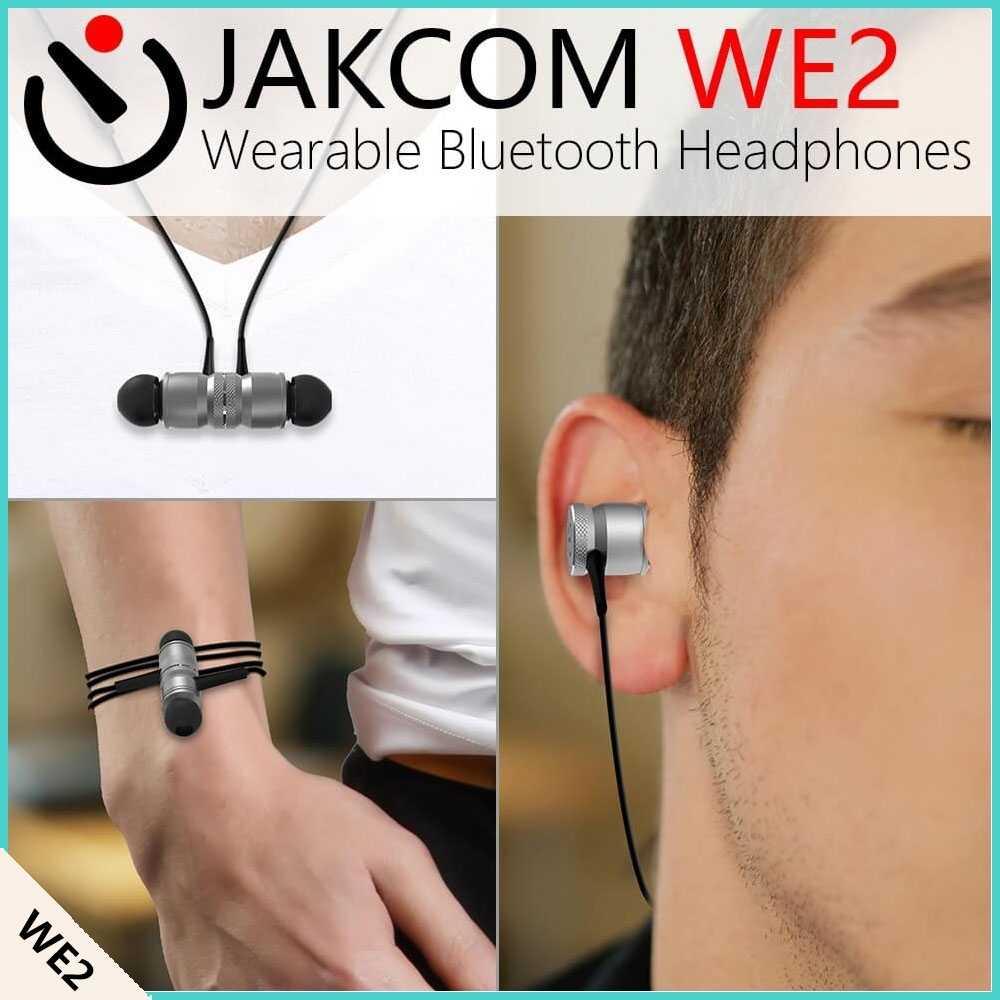 Jakcom WE2ウェアラブルbluetoothヘッドフォン新製品の固定無線端末として固定コードレス電話fwtバナナソケット