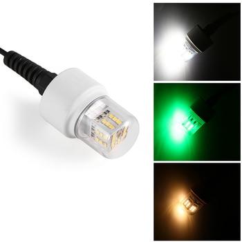 цена на 15W 36 LEDs Underwater Night Fishing Light 360 Degree 12V LED Fish Finder Lamp with 5.5M Cord
