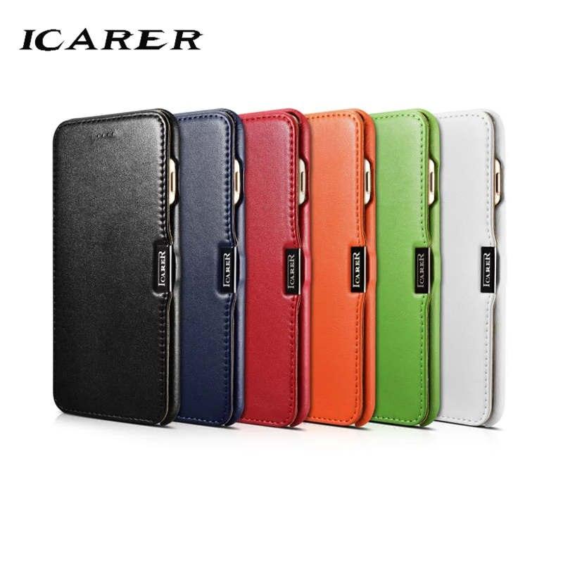 iCarer für iPhone 7 Plus Hülle Luxus Rot Schwarz Marke Hart - Handy-Zubehör und Ersatzteile