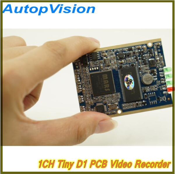 ФОТО 4PCS Free shipping 1CH Mini HD XBOX DVR PCB Board Support Power-up Record, Motion Detect Record etc