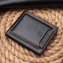 Короткий гаманець шкіряних грошей гаманця Pidengbao Brand New Чоловіча гаманець гаманець гаманець гаманець з коробкою подарунка Безкоштовна доставка