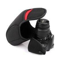 Caso DSLR Saco Da Câmera Pacote Forro Macio Para Nikon D7100 D7200 D7500 D750 D7000 D800 D810 D610 D500 D600 D300 D700 D90 D80 D70