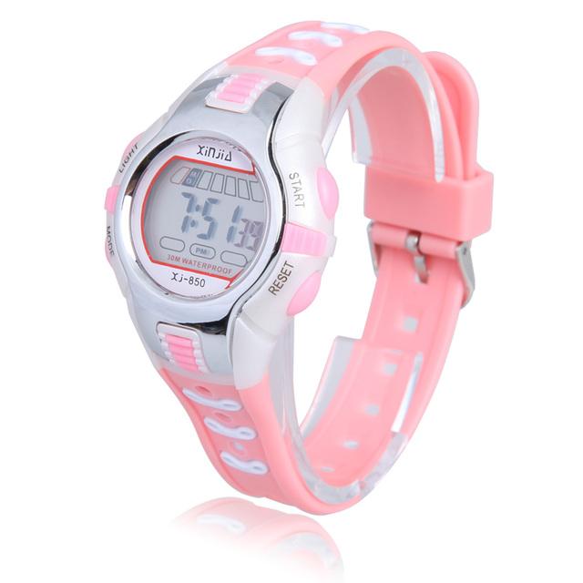 Fashion Children Digital LED Watch Kids Swimming  Sports Digital Sports Wrist Watch Waterproof Boys Girls Clock Child Gift