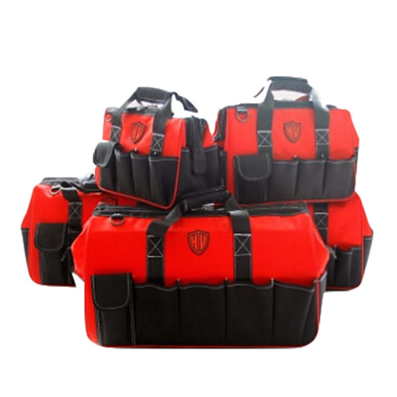 Hoomall Large Capacity Thick Tool Bag Wear-Resistant Oxford Cloth Shoulder Portable Diagonal Electrical Tool Bag Multi-function hoomall tool kit multi functional maintenance electrical shoulder bag large thick canvas oxford cloth tool bag