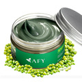 Free Shipping 120g Mung Bean Seaweed Mask Peeling Acne Contractive Pore Blackhead Remover Whitening Hydrating Face