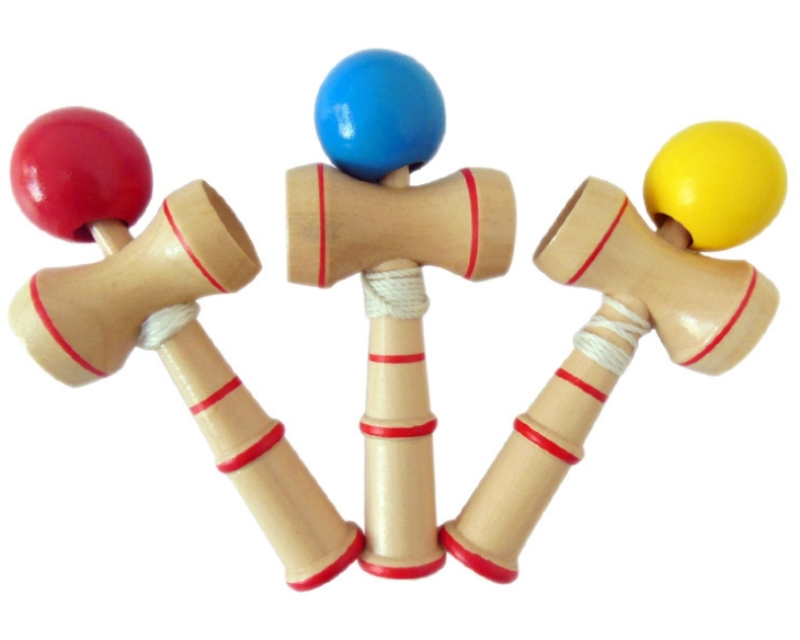 Japanese Toys And Games : Hot sale cm kendama cup and ball game