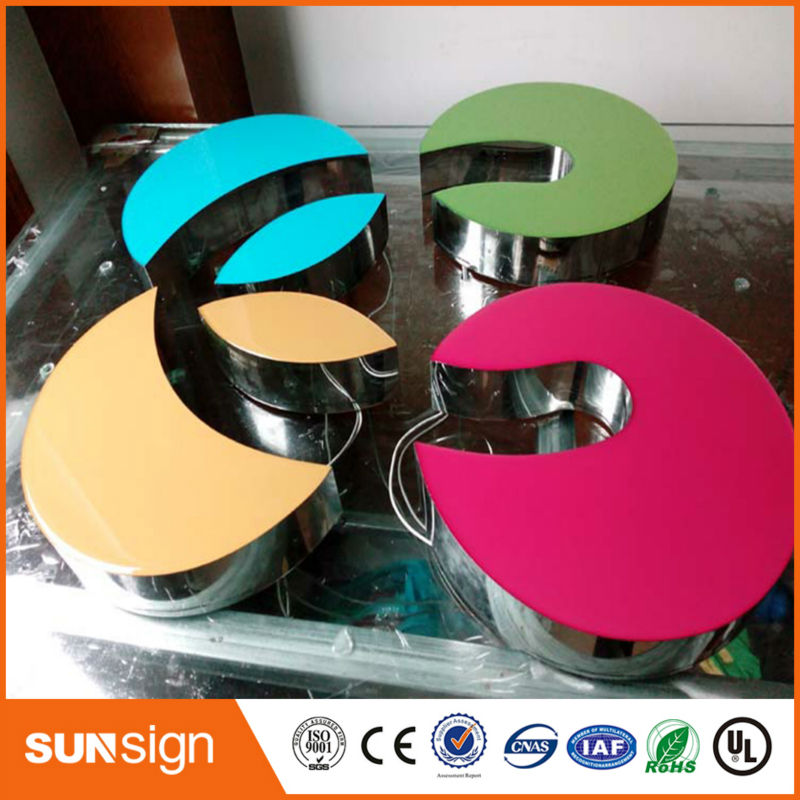 3d Acrylic Front Lit Led Letter Resin Signs
