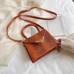 Image 5 - [BXX] bandolera de un solo hombro para mujer, HF206 bolso de mano Vintage femenino, combina con todo, 2020