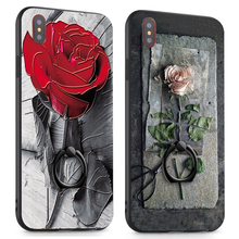 3D Relief Phone Case iPhone 5 5S SE 6 6S Plus 7 Plus 8 X
