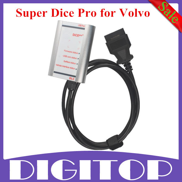 2014D Super Dice Pro (Silver Color) Diagnostic tool for Volvo Dice Pro 2014a