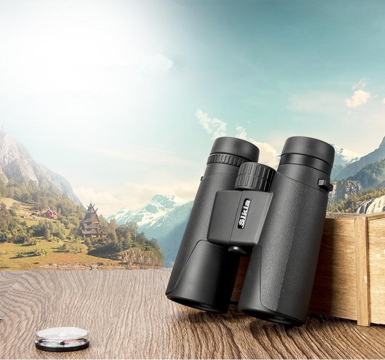 Visionking Binoculars 10x42 Bak4 Waterproof Telescope Professional Binoculars Fog-proof Hunting Optics Camping Travel Binocular visionking sw 7x28 binocular for birdwatching with 100