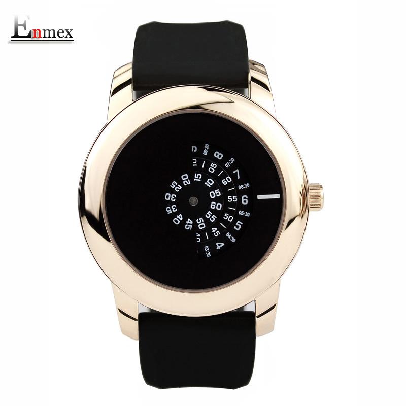 Prix pour 2017 cadeau enmex style créatif neutre montre-bracelet noir caméra concept conception fraîche silicone bande brève montre à quartz occasionnel