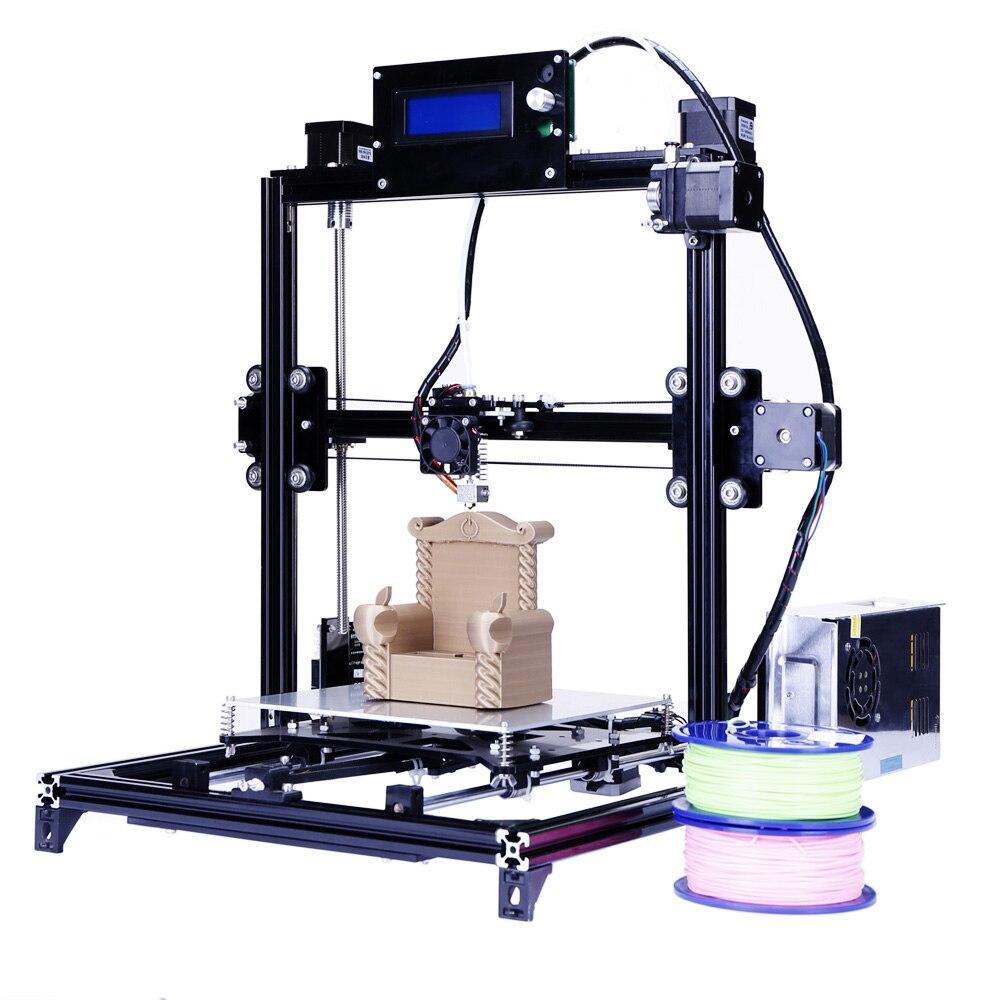 I3 Prusa 3d Impresora de gran Tamaño de Marco de Metal Con Sistema de Auto-nivel
