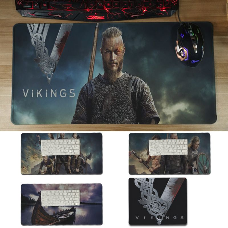 Yinuoda pc mouse pad vikings gamer play mats Mousepad Size for 30x60cm and 30x60cm Gaming Mousepads