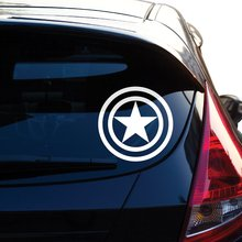 Graphics Captain America Decal Sticker for Car Window, Laptop, Motorcycle, Walls, Mirror and More wonder woman decal sticker for car window laptop motorcycle walls mirror and more car sticker car door protector car stickers